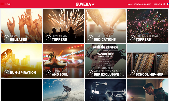 Guvera Free Unlimited Access to Music