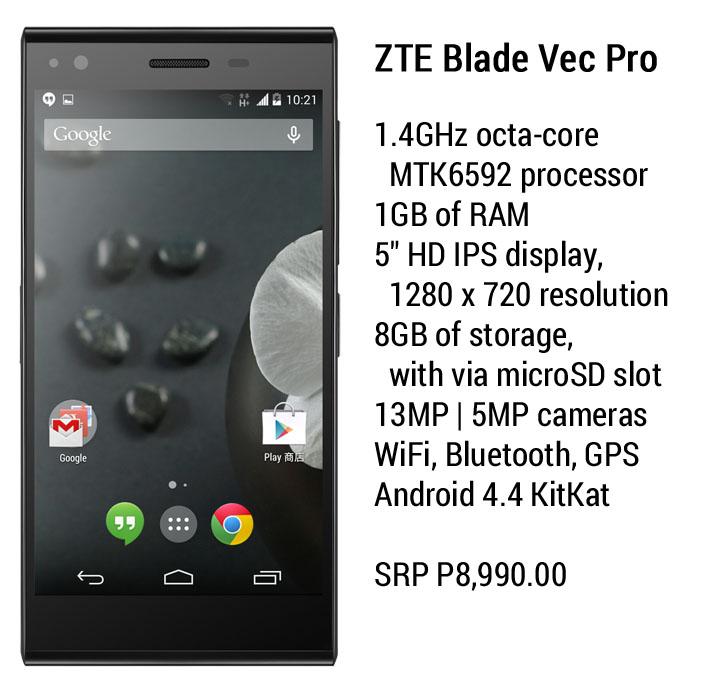 ZTE Blade Vec Pro 2