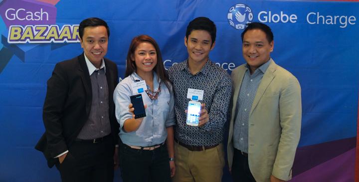 Globe GCash Execs - Remo Garrovillo, Xavier Marzan, Carol Lim, Charles Pestaña