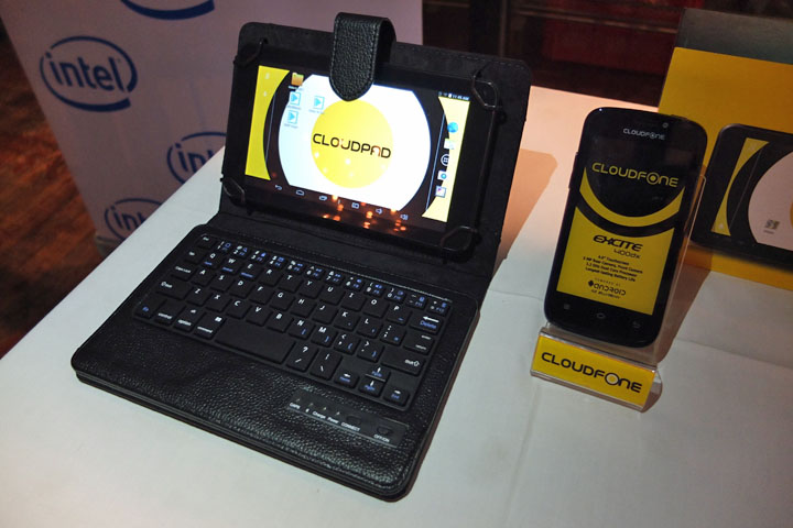 CloudFont Excite 400dx, Cloudfone Epic 7.0