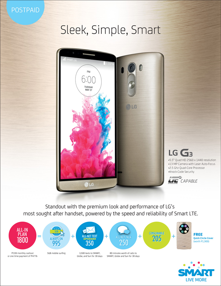 LG G3 Smart Postpaid