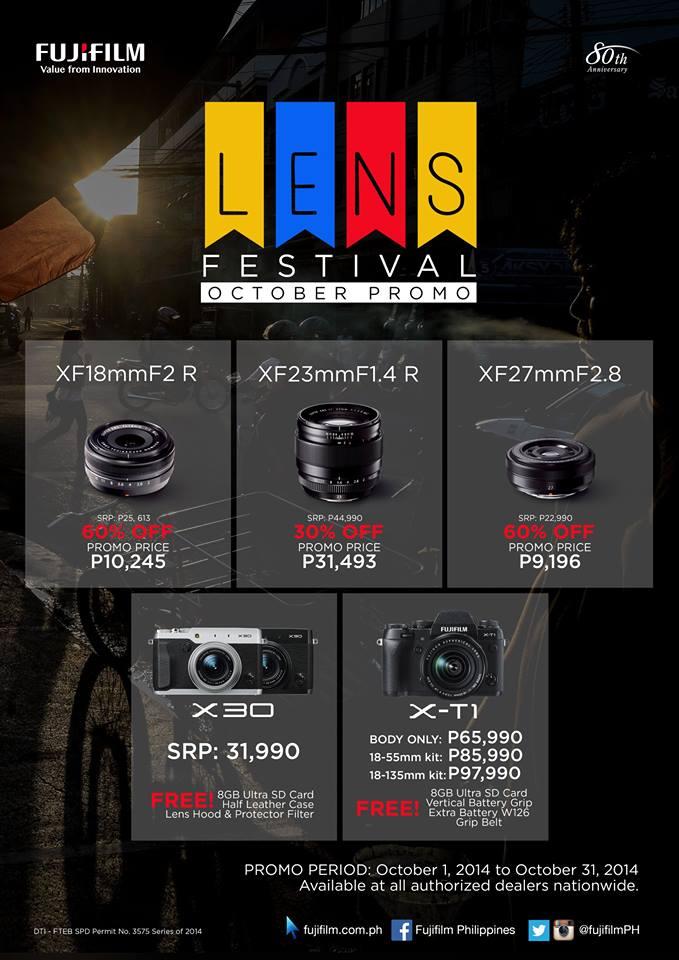 FUJIFILM Street Lens Festival