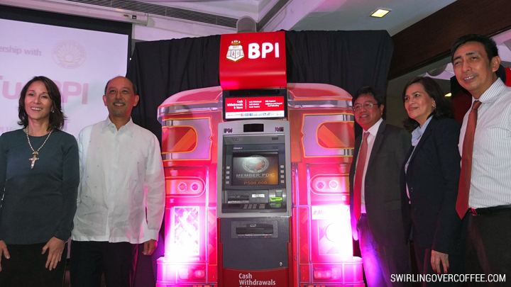 BPI and DOT Officials at #MoreFunBPI ATM