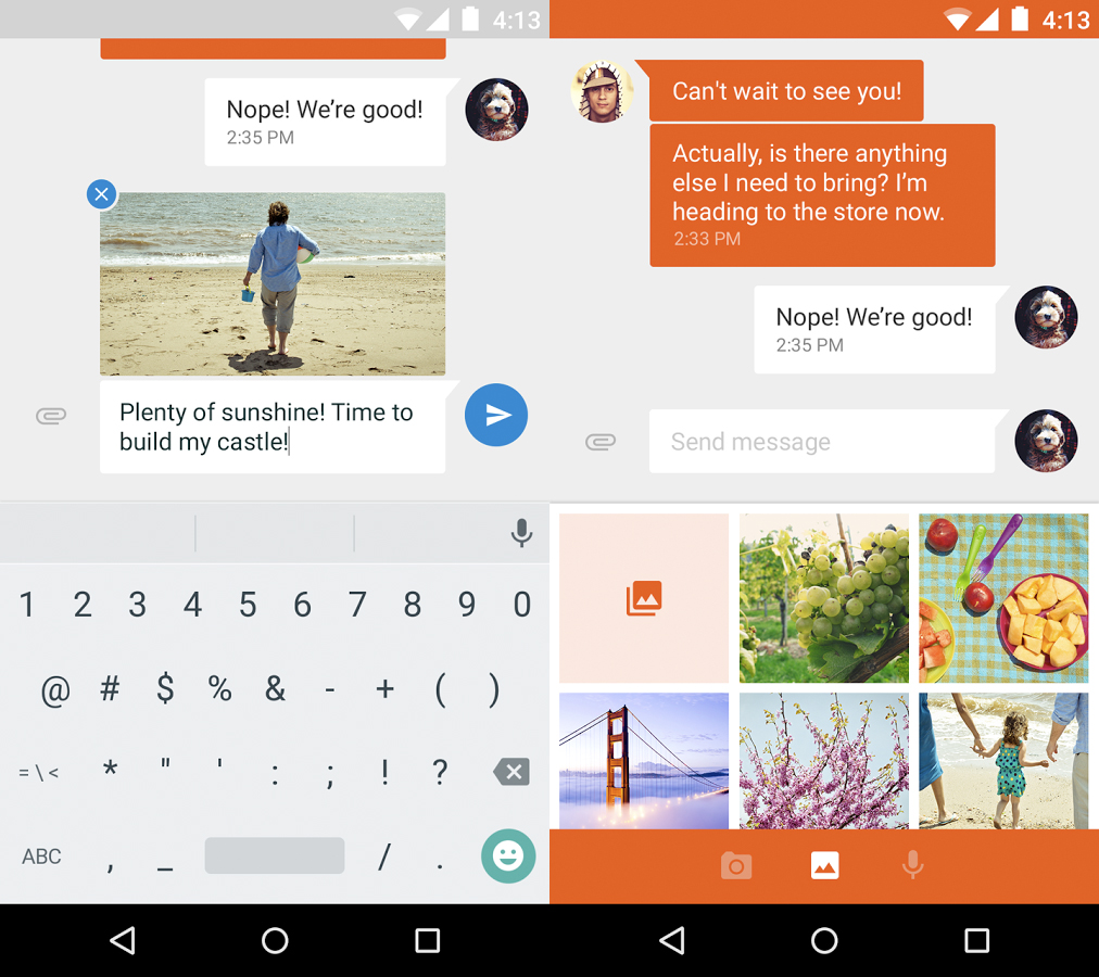 how to search through messages on messenger