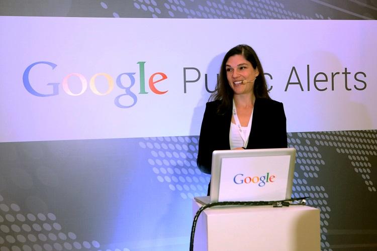 Google Public Alerts Launch - Meryl Stone