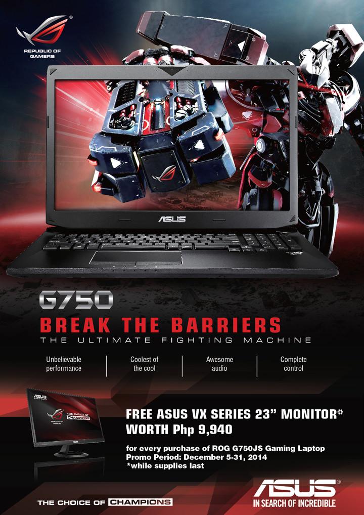 ASUS ROG G750, ASUS ROG G750 specs, ASUS ROG G750 price