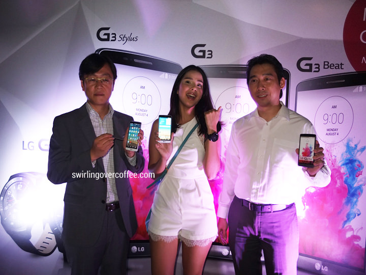 LG G3 Stylus, LG G3 Beat, Maxene Magalona