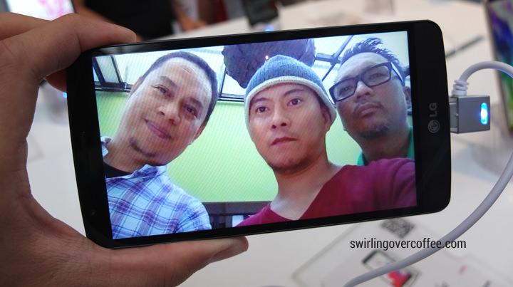 LG G3 Beat, LG G3 Selfie