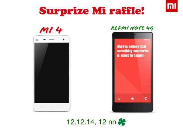 Mi 4 and Redmi Note