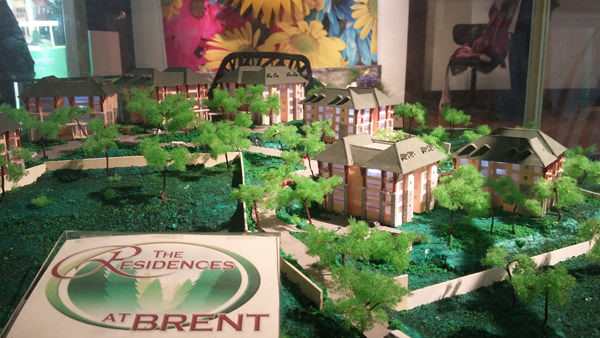The Brent Residences Baguio Scale Model