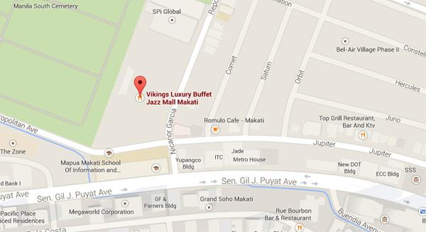 Viking Jazz Mall Map