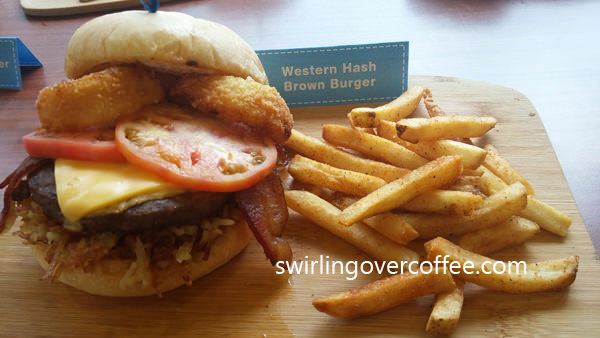 Western Hash Brown Burger
