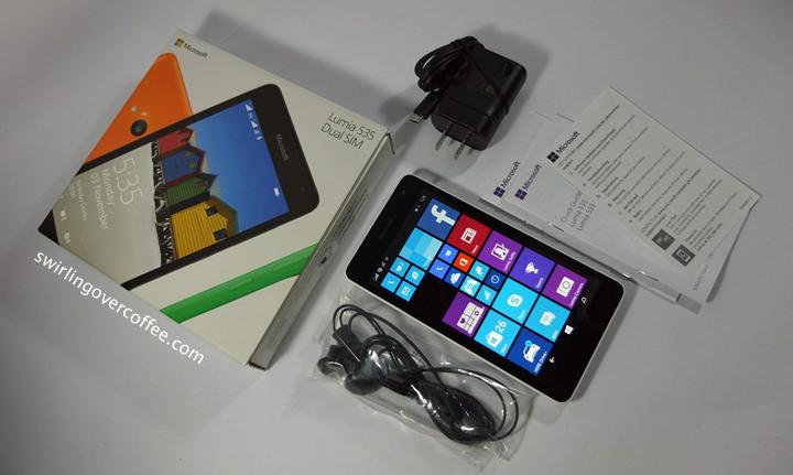 Lumia 535, Lumia 535 Unboxing, Lumia 535 First Impressions