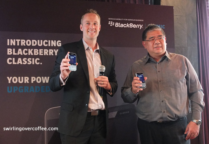 BlackBerry Classic, Cameron Vernest, Edward Tan