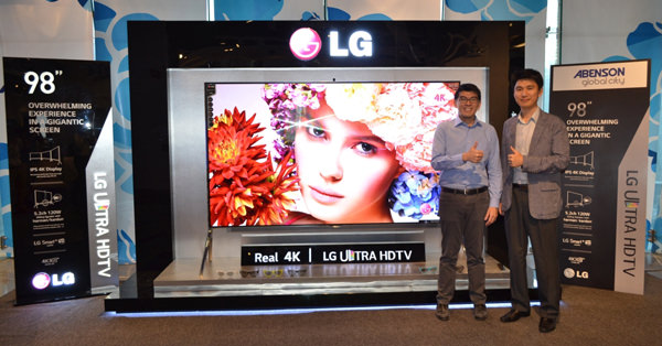 LG 98-inch Ultra HD TV photo 2 copy