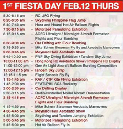 19th Philippine Intl Hot Air Balloon - Day1