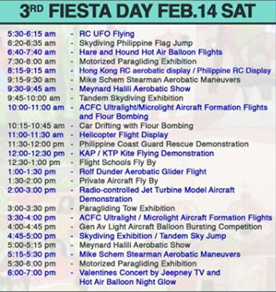 19th Philippine Intl Hot Air Balloon - Day3