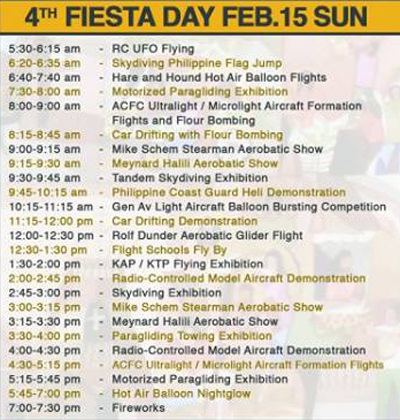 19th Philippine Intl Hot Air Balloon - Day4