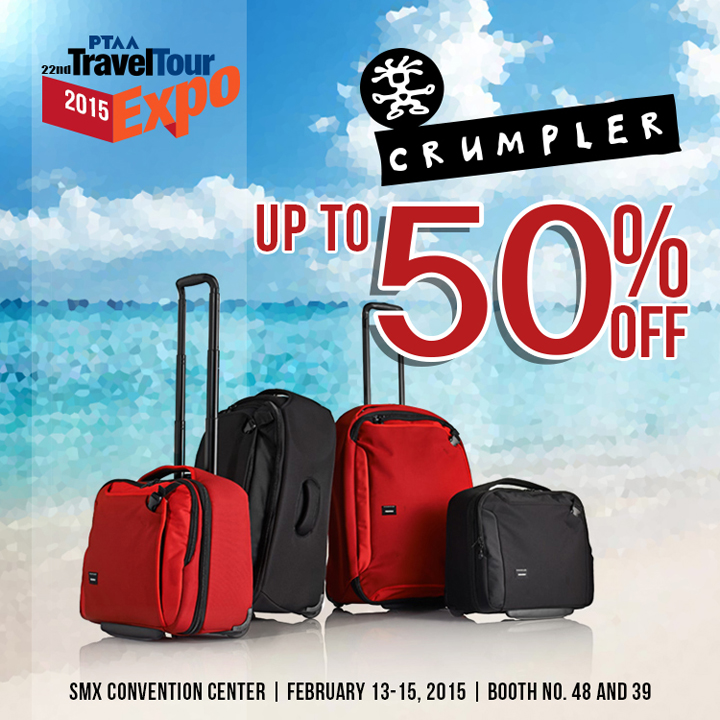Crumpler, Traveltour Expo 2015