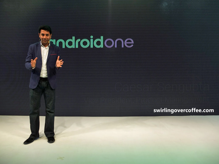 Google Android One, Caesar Sengupta, Google