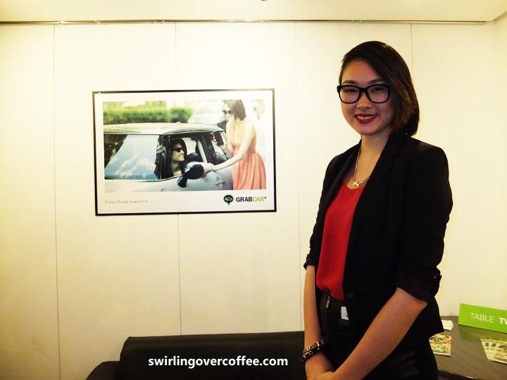 GrabTaxi, GrabCar+, Natasha Bautista