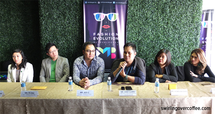 Left to right: Monica Punzalan (General Manager - KNL Tower), PS Ong (CEO - RapidCloud Singapore), Jess C (Founder - Metro Blogger), Choy Suarez (Director & Official Photographer - Fashion Evolution), Agness Degamo (General Manager - Emerge Philippines), Pretty Young Thing (Bellhaus Entertainment).