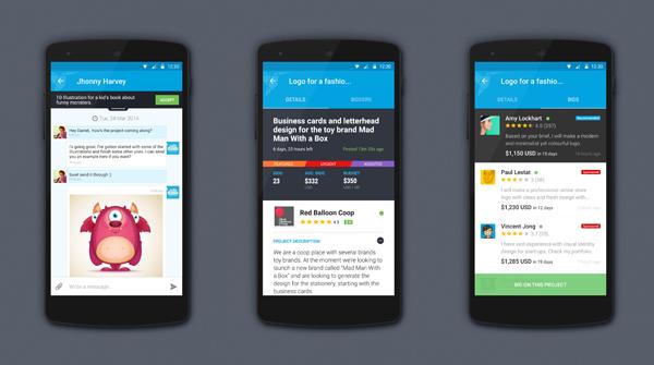 Freelancer Android 2.0 -Screenshots