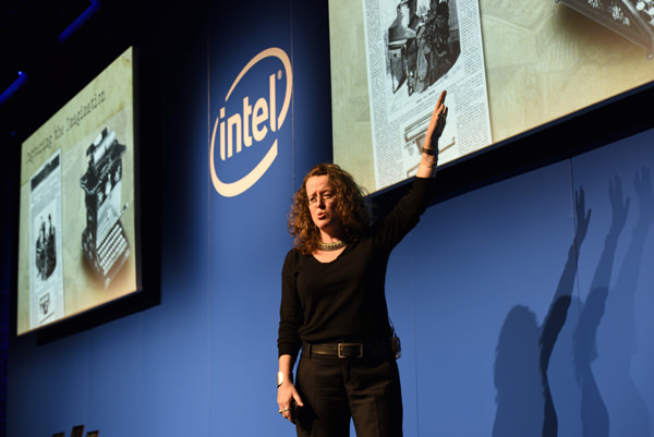 Genevieve Bell, Intel vice president, Intel Fellow and director of Intel...