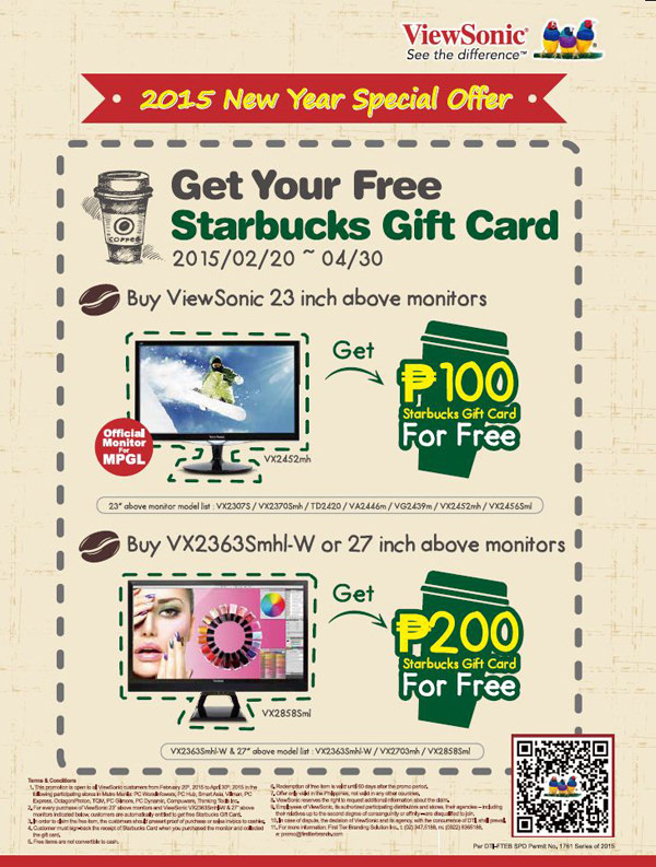 ViewSonic New Year promotion