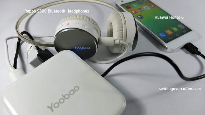 Yoobao Master Power Bank M4 10400mAh, Huawei Honor 6, Lenovo Vibe Z