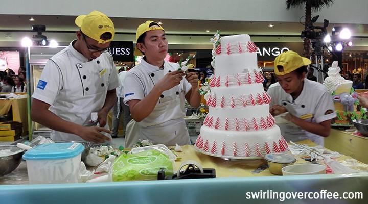 Goldilocks Intercollegiate Cake Decorating Challenge, SMX Main Mall, Western Institute of Technology Iloilo