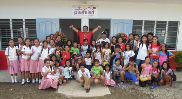 Philam Paaralan-US Phils Society classroom turnover photo