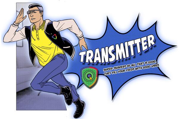 Web Rangers Transmitter