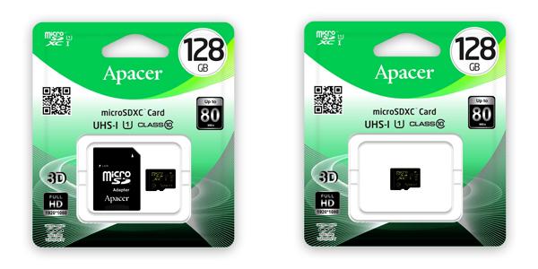 microSDXC UHS CL10 w0 w1 128G packing (NXPowerLite)