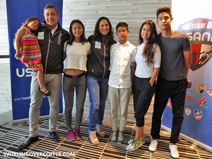 Team USANA 2, Maricel Laxa, Anthony Pangilinan