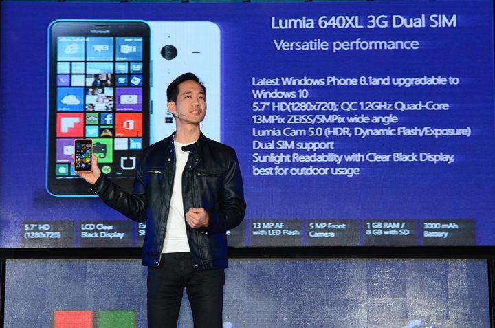 Gary Chan, Lumia 640 XL, Lumia 540