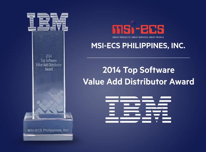 MSI-ECS, IBM Award
