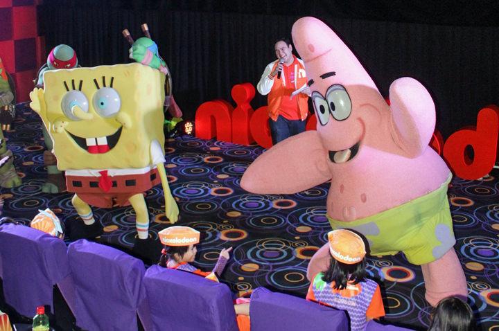 Kids Choice Award 2015, Spongebob