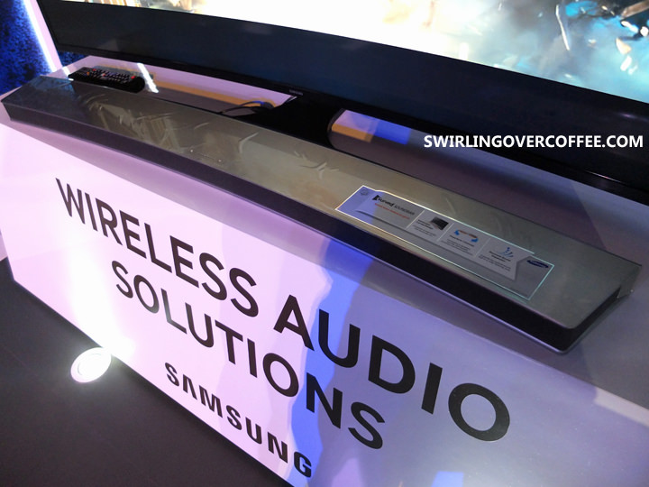 Wireless Audio Curved Soundbar
