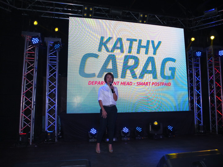 Kathy Carag (Department Head, Smart Postpaid)