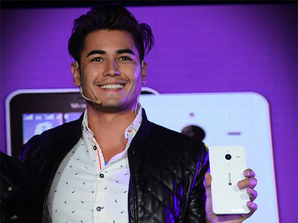 Fabio Ide and his Lumia 640 XL