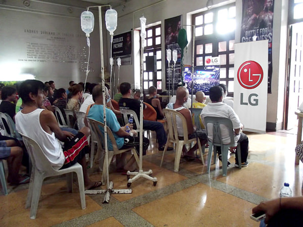 LG ABS CBN Pacquiao Mayweather PGH Cancer Rehab