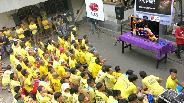 LG ABS CBN Pacquiao Mayweather Quezon City Jail