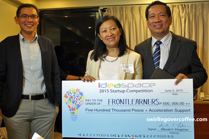 Frontlearners, IdeaSpace 2015