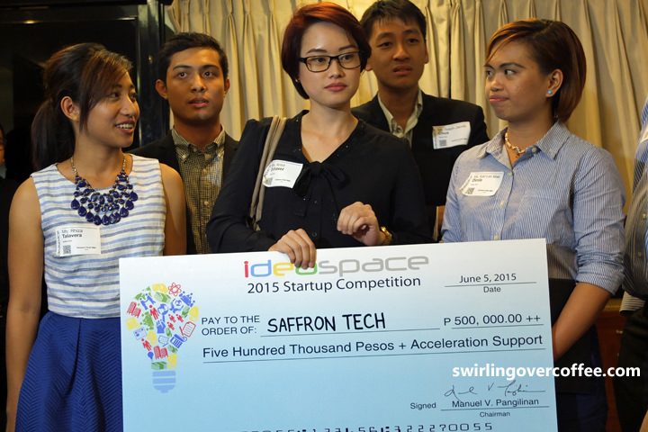 Saffron Tech, IdeaSpace 2015