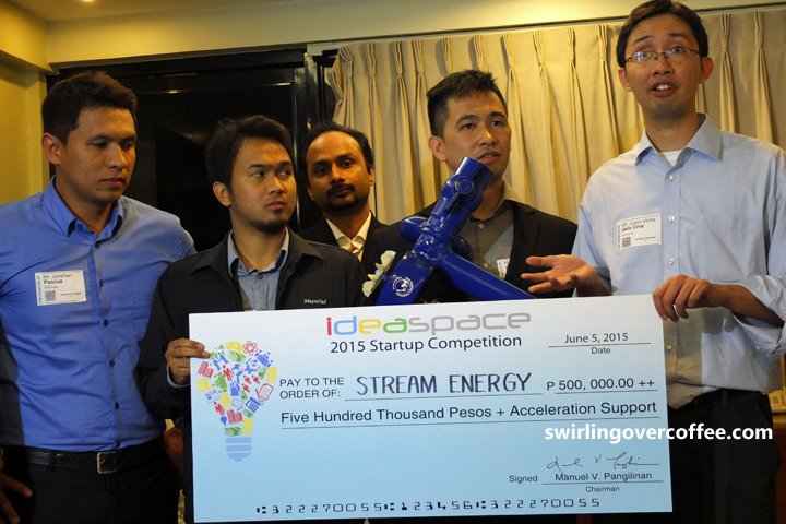 Stream Energy, IdeaSpace 2015