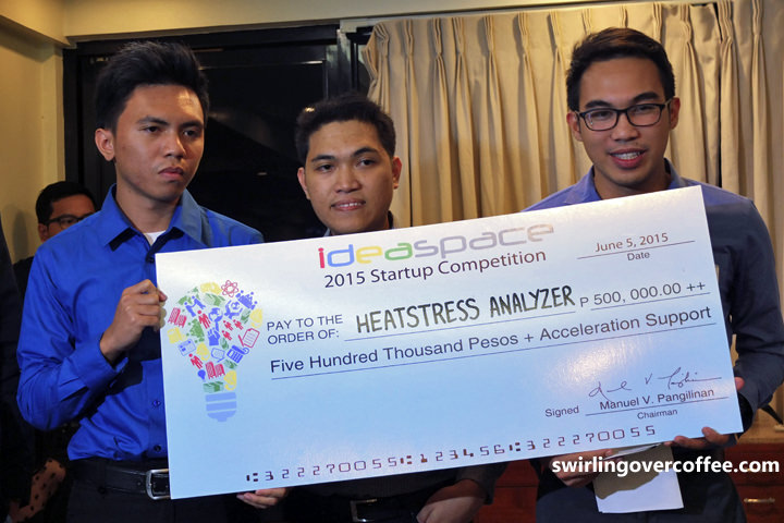 Heat Stress Analyzer, IdeaSpace 2015