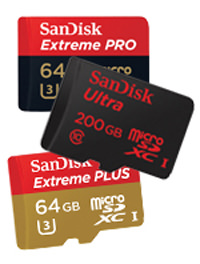 1SanDisk microSD™ Cards