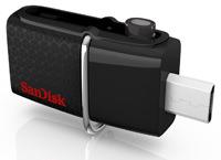 3SanDisk Ultra Dual USB Drive 3.0