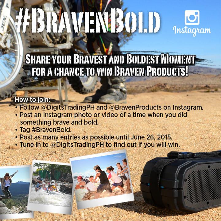 Braven Instagram Contest